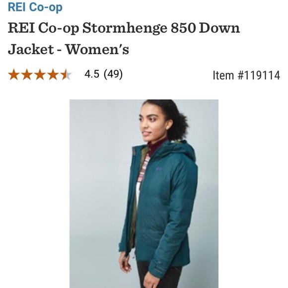 247e70887e357e REI co-op stormhenge waterproof down jacket. M_5c1ffca27386bc1bae7df051